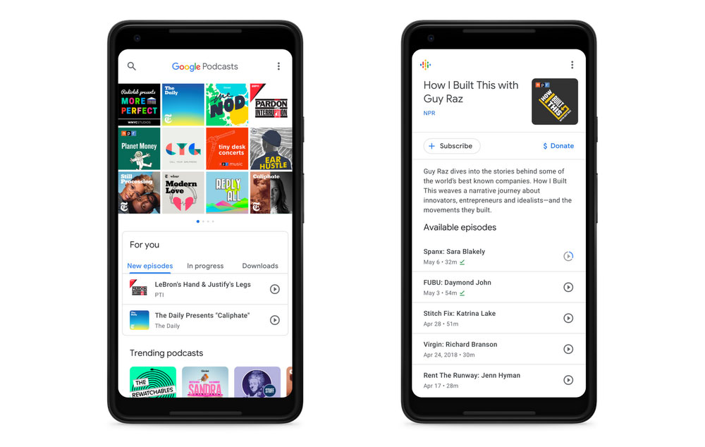 google-podcasts-app-techie