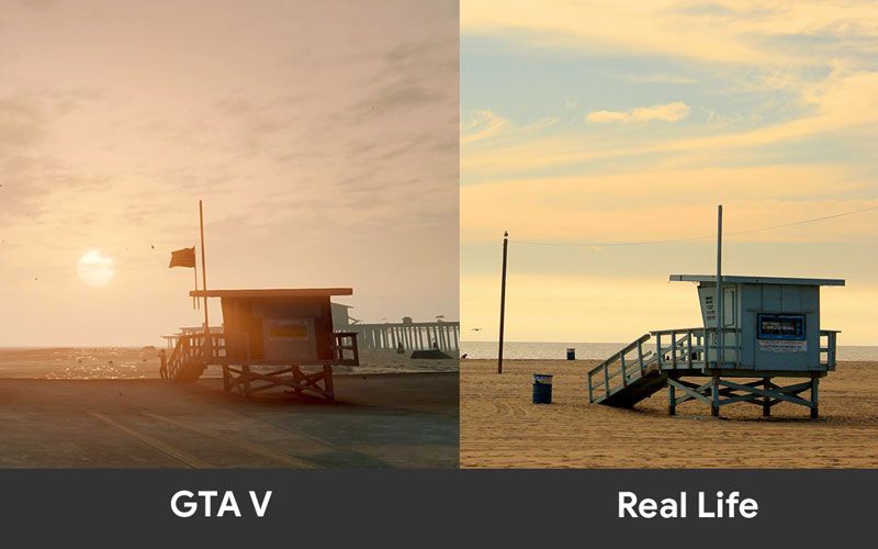 GTA-V-in-Game-Los-Santos-vs-Real-Life-Los-Angeles-tech-news-sinhala