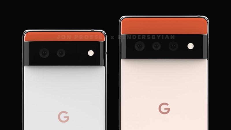 Google pixel 6 Triple Camera